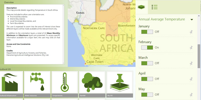 An overview of climate data on AgriSuite®