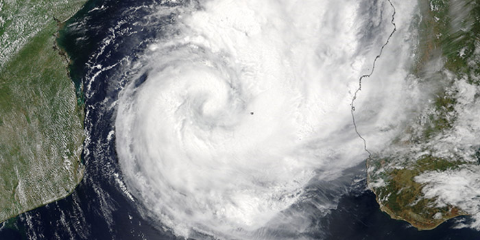 Tropical cyclones and their effect Southern Africa